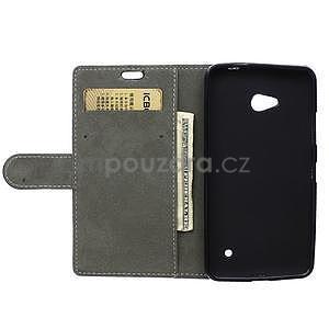 Ochranné peněženkové pouzdro Microsoft Lumia 640 - černé - 6