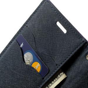 Diary PU kožené pouzdro na Samsung Galaxy S5 mini - fialové - 6