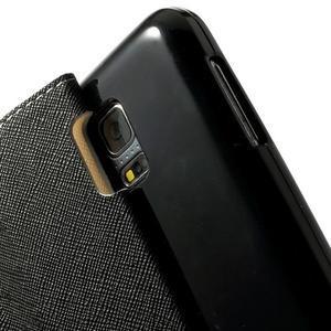 Pěněženkové pouzdro s okýnkem pro Samsung Galaxy S5 mini - bílé - 6
