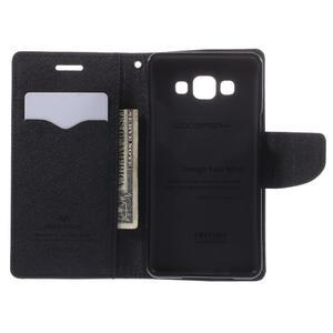 Mr. Fancy koženkové pouzdro na Samsung Galaxy A5 - černé - 6