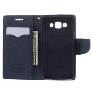 Mr. Fancy koženkové pouzdro na Samsung Galaxy A5 - fialové - 6