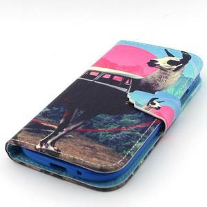 Peněženkové pouzdro na mobil Samsung Galaxy S3 - lama - 6