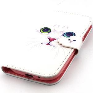 Peněženkové pouzdro na mobil Samsung Galaxy S3 - kočička - 6