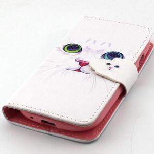 Fun peněženko pouzdro na Samsung Galaxy S3 mini - kočička - 6
