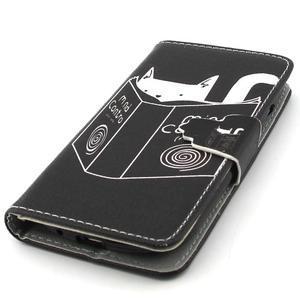 Fun peněženko pouzdro na Samsung Galaxy S3 mini - kočička čte - 6