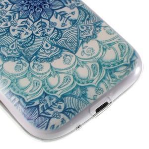 Ultratenký gelový obal na Samsung Galaxy S3 - lotus - 6