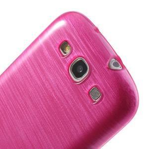 Brush gelový kryt na Samsung Galaxy S III / Galaxy S3 - rose - 6