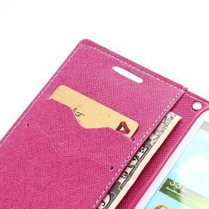 Mr. Fancy koženkové pouzdro na Samsung Galaxy S3 - růžové - 6