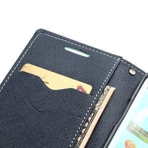Mr. Fancy koženkové pouzdro na Samsung Galaxy S3 - azurové - 6