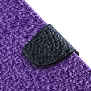 Mr. Fancy koženkové pouzdro na Samsung Galaxy S3 - fialové - 6