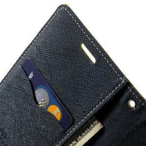Diary PU kožené pouzdro na Samsung Galaxy S5 mini - zelené - 6