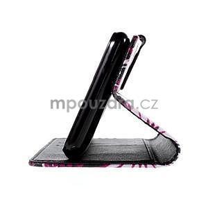 Koženkové pouzdro na mobil Sony Xperia E4 - motýlci - 6