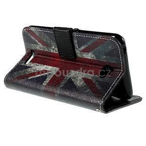 Koženkové pouzdro na mobil Sony Xperia E4 - UK vlajka - 6