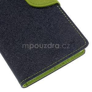 Ochranné pouzdro na Sony Xperia M4 Aqua - tmavěmodré/zelené - 6