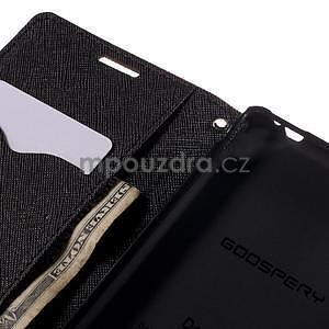 Ochranné pouzdro na Sony Xperia M4 Aqua - hnědé/černé - 6
