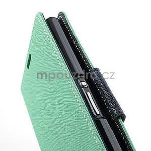Fancy peněženkové pouzdro na mobil Sony Xperia Z1 - azurové - 6
