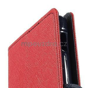 Peněženkové pouzdro na mobil Sony Xperia Z3 - červené - 6