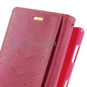 Peněženkové pouzdro na mobil Sony Xperia Z3 - žluté - 6