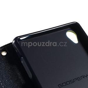 Peněženkové pouzdro na mobil Sony Xperia Z3 - zelené - 6