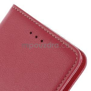 Koženkové pouzdro na Sony Xperia Z3 - červené - 6