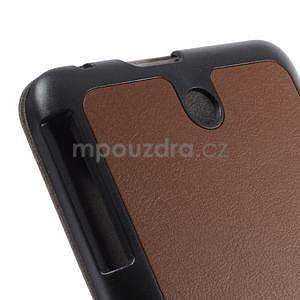 Supreme polohovatelné pouzdro na tablet Asus Memo Pad 7 ME176C - hnědé - 6