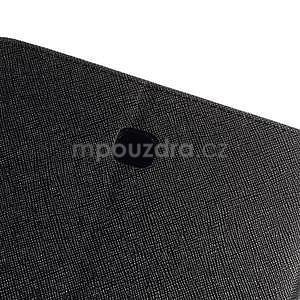 Černé peněženkové pouzdro Goospery na tablet Samsung Galaxy Tab 4 8.0 - 6