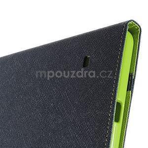 Modré peněženkové pouzdro Goospery na tablet Samsung Galaxy Tab 4 8.0 - 6
