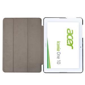 Třípolohové pouzdro na tablet Acer Iconia One 10 B3-A20 - hnědé - 6