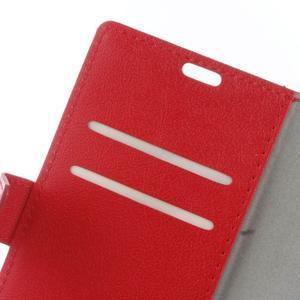 Gregory peněženkové pouzdro na Acer Liquid Z520 - červené - 6