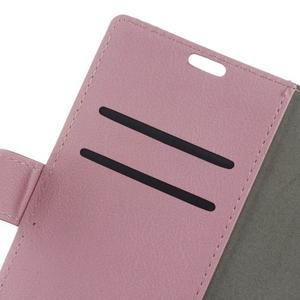 Gregory peněženkové pouzdro na Acer Liquid Z520 - růžové - 6