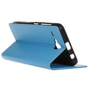 Gregory peněženkové pouzdro na Acer Liquid Z520 - modré - 6