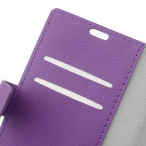 Gregory peněženkové pouzdro na Acer Liquid Z520 - fialové - 6