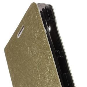 Lines pouzdro na Acer Liquid Z520 - zlaté - 6
