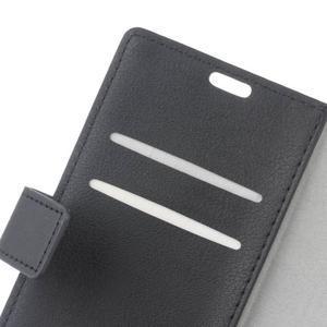 Gregory peněženkové pouzdro na Acer Liquid Z520 - černé - 6