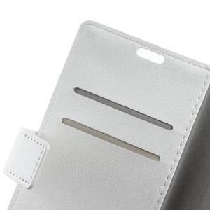 Gregory peněženkové pouzdro na Acer Liquid Z520 - bílé - 6