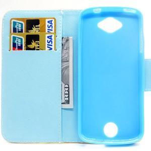 Luxy peněženkové pouzdro na Acer Liquid Z530 - mladistvá láska - 6