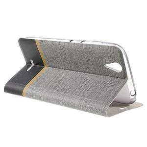 Klopové pouzdro na mobil Acer Liquid Z630 - šedé - 6