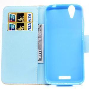 Peněženkové pouzdro na mobil Acer Liquid Z630 - mladistvá láska - 6