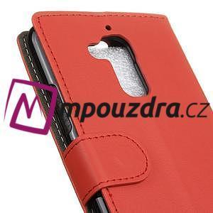 Glory peněženkové pouzdro na Asus Zenfone 3 Max - červené - 6
