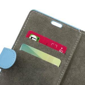 Glory peněženkové pouzdro na Asus Zenfone 3 Max - světlemodré - 6