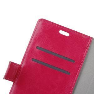 Wall knížkové pouzdro na mobil Asus Zenfone 3 Max ZC553KL - rose - 6