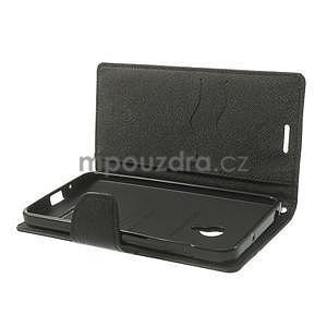 Černé PU kožené pouzdro Asus Zenfone 5 - 6