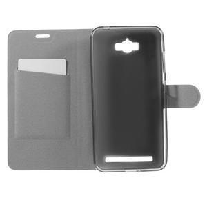 Horse peněženkové pouzdro na Asus Zenfone Max - bílé - 6