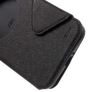 Diary peněženkové pouzdro s okýnkem na Asus Zenfone Max - černé - 6