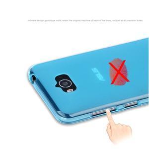 Matný gelový obal na Asus Zenfone Max - modrý - 6
