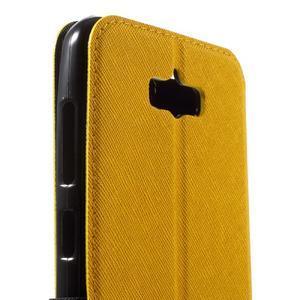 Diary peněženkové pouzdro s okýnkem na Asus Zenfone Max - žluté - 6