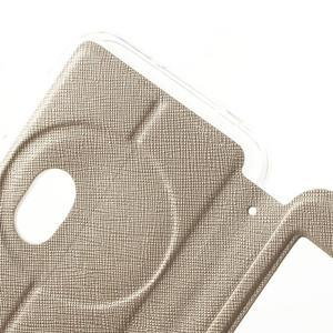 Peněženkové pouzdro s okýnkem na Asus Zenfone Zoom - zlaté - 6