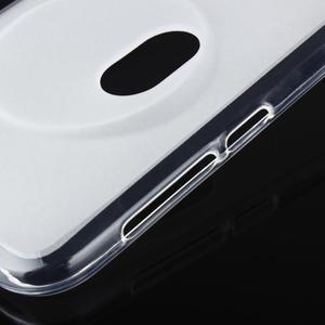 Gelový matný obal na mobil Asus Zenfone Zoom - bílý - 6