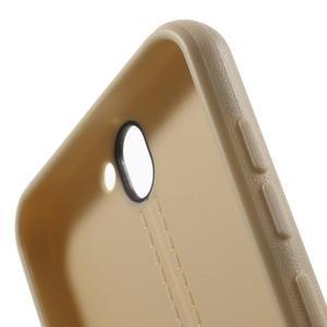 Lines gelové pouzdro na mobil HTC One A9 - champagne - 6