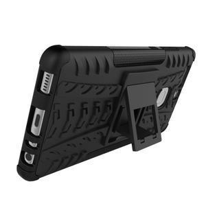 Outdoor ochranný kryt na mobil Huawei P9 - černé - 6